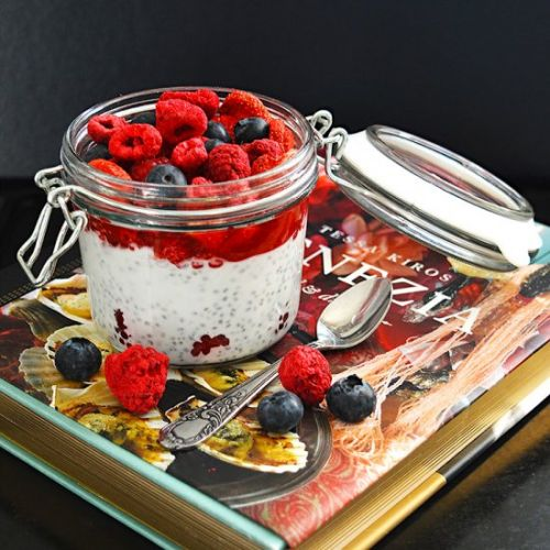 Chia Seeds Coconut Pudding