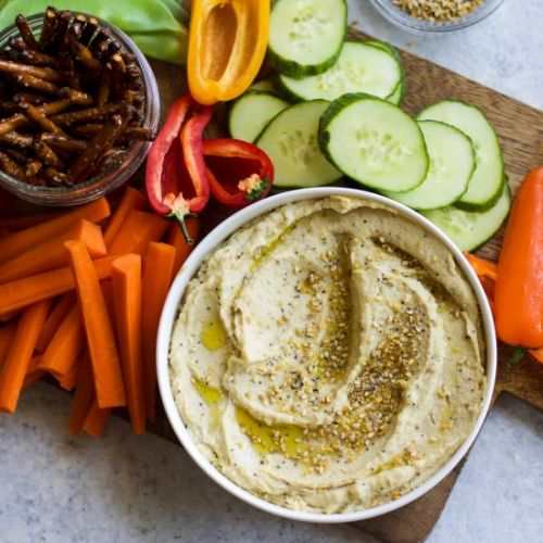 Everything Bagel Hummus