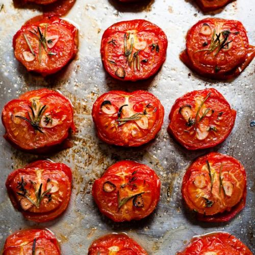 Easy Oven Roasted Tomatoes Recipe
