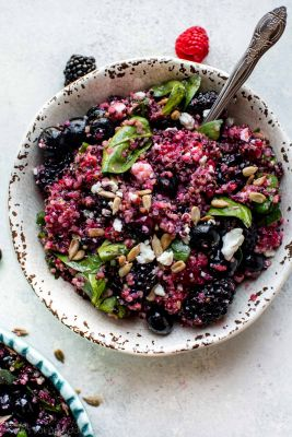 Fresh Berry Quinoa Salad
