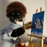 These Cats Cosplayed as Jon Snow, Spider-Man, and Bob Ross - and They're Such Good Models!