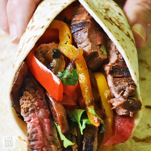 Flank Steak Fajitas Recipe