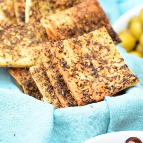 Zaatar and Sumac Crackers