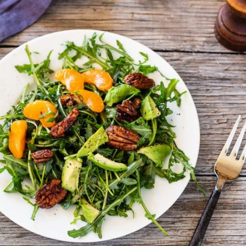 Arugula Salad with Clementines