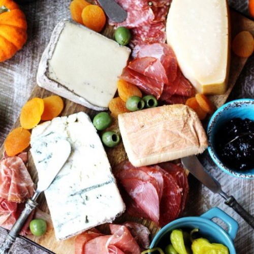 Italian Cheese and Meat Board