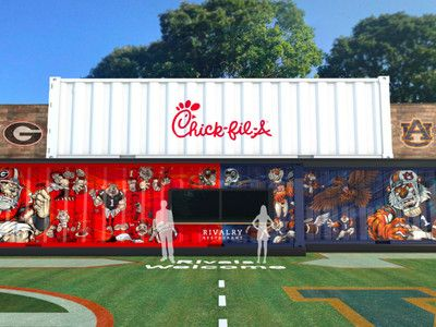Chick-fil-A Will Host a Pop-Up to Celebrate One of Football's Biggest Rivalry Games