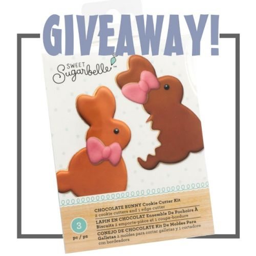 Flash Post: Sweet Sugarbelle Easter Bunny Cutter Giveaway