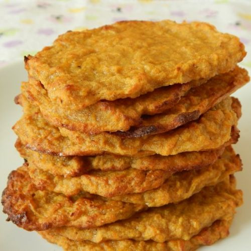 BLW Sweet potato fritters