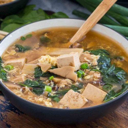 Instant Pot Hot and Sour Soup