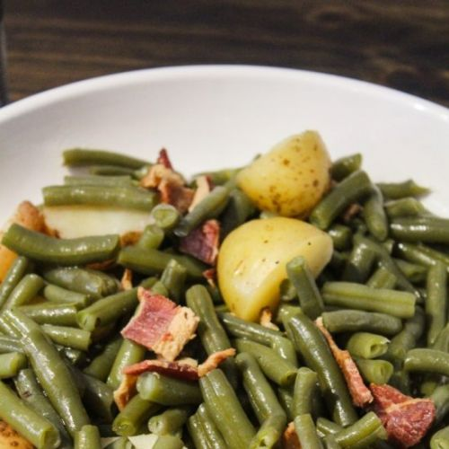 Crockpot Southern Style Green Beans