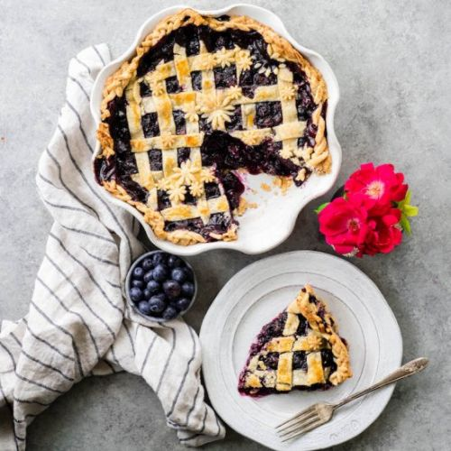 The Best Blueberry Pie From Scratch