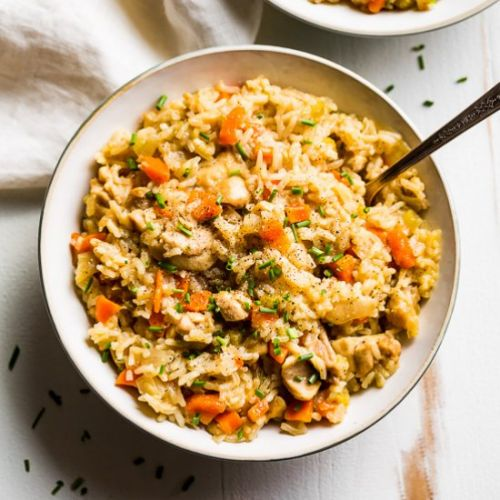 Instant Pot Chicken and Rice 3 Ways