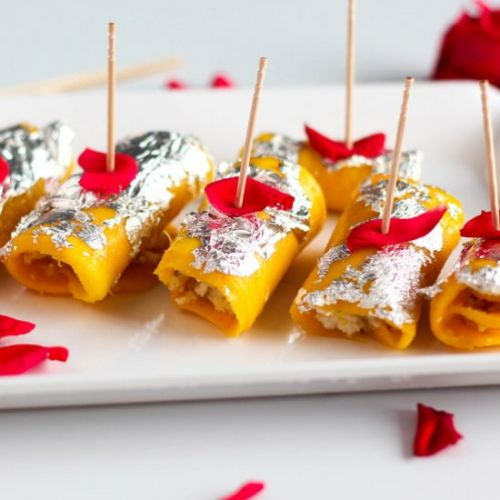 How to make Mango Cheese Roll Desse