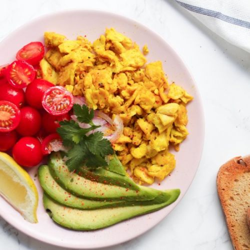 Vegan Tofu Scrambled Eggs