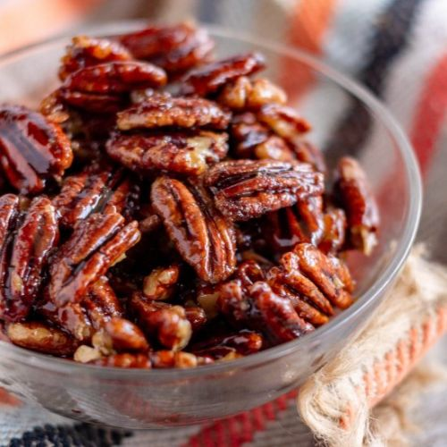 Stove Top Candied Pecans
