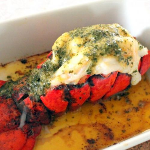 Garlic-Lobster Tail