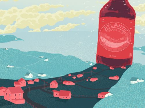 A Town Drowned in the Smell of Fish Sauce