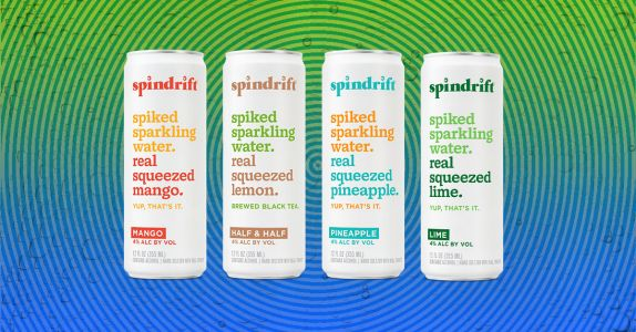 Spindrift Launches New 'Spiked' Hard Seltzer Line