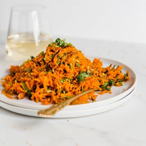 Moroccan Spiced Carrot Salad