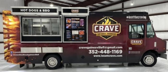 Crave Hot Dogs and BBQ Set to Open Food Truck in Shreveport This Summer