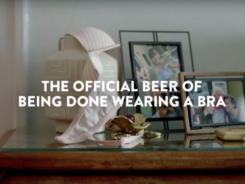 Coors Light Invites You to Take Your Bra Off, Because You've Earned It