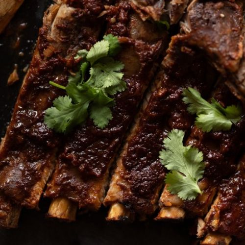 Pomegranate ribs