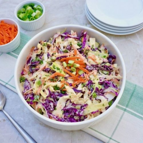 Tri Color Cole Slaw