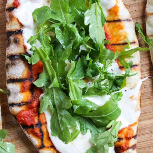 Easy Grilled Pizza