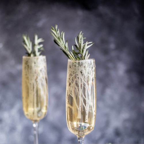 Winter Woods Rosemary Prosecco