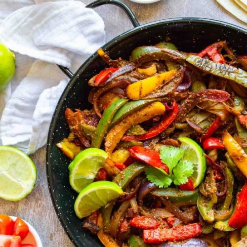 15-Minute Fajita Veggies Recipe