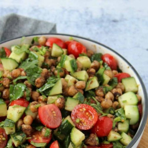SPICED CHICKPEA SALAD RECIPE
