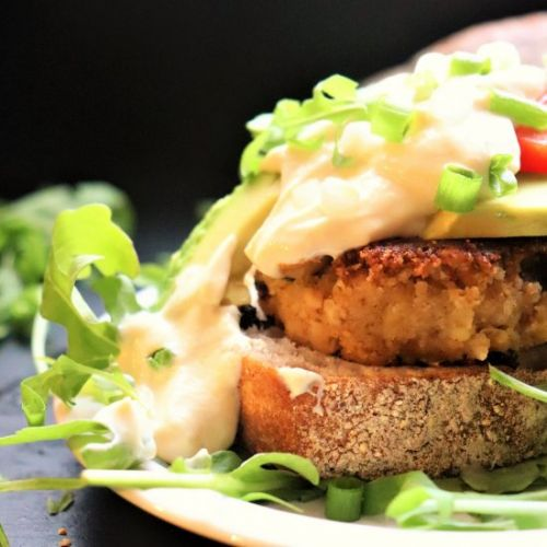 Lion's Mane Brunch Crab Cakes