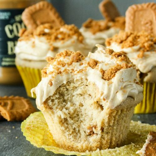 Cookie Butter Cupcakes