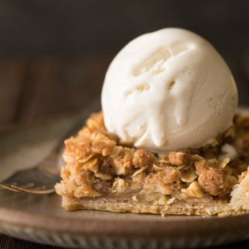Dutch Apple Slab Pie