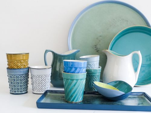 Get the Colorful Porcelain Cups at Olmsted for Yourself