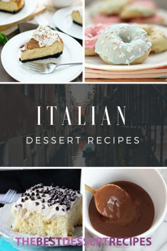 9 Italian Dessert Recipes That Will Transport You to Rome