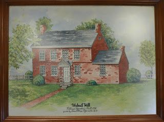 The first brick house west of the Alleghenies was built in 1788 near New Haven, Kentucky