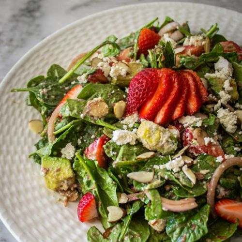 Strawberry Salad Balsamic Dressing