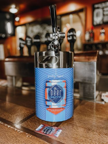Join Rock Bottom's New Beer Club to Enjoy Award-Winning Brews by the Barrel