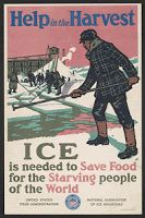 Ice harvesting in 19th and 20th century America
