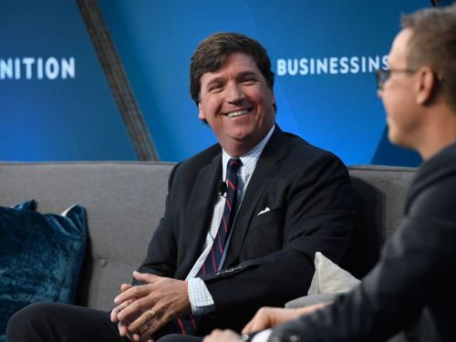 Tucker Carlson Says He Can't Dine Out Because Everyone Wants to Yell at Him