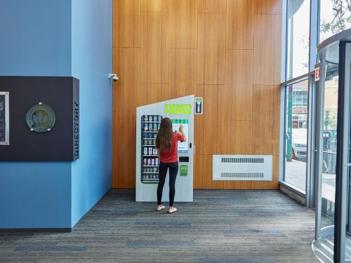 Once a Nutritional Nightmare, Hospital Vending Machines Evolve to Serve Health Care Workers