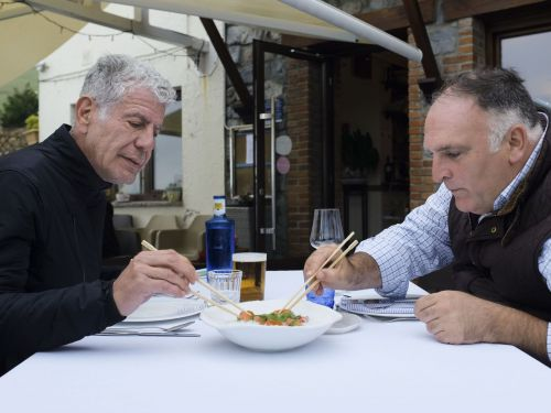 The Best Moments of Anthony Bourdain and José Andrés's Trip to Asturias on 'Parts Unknown'