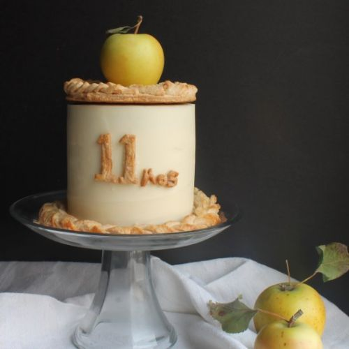 Apple Pie Baby Cake