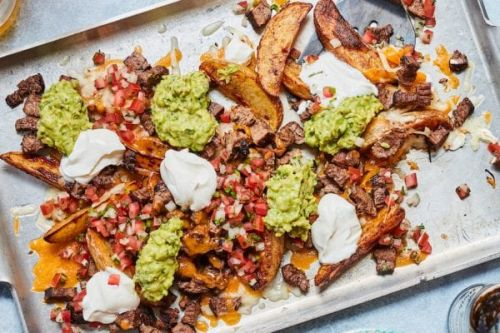 Carne Asada Nacho Fries
