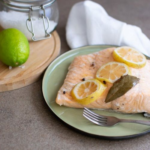 Roasted Salmon from Frozen