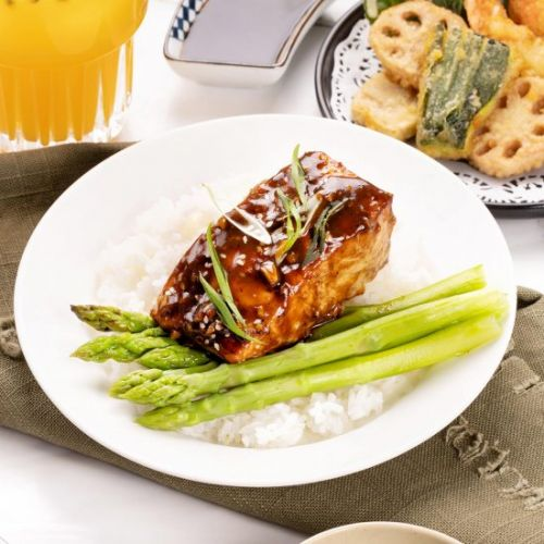 Flaky Juicy Salmon Teriyaki Recipe