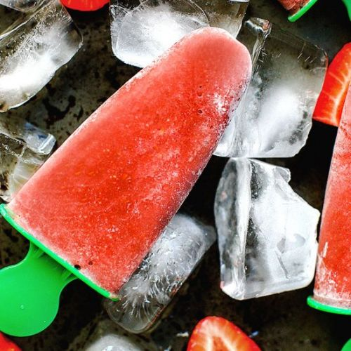 Berry Superfood Popsicles