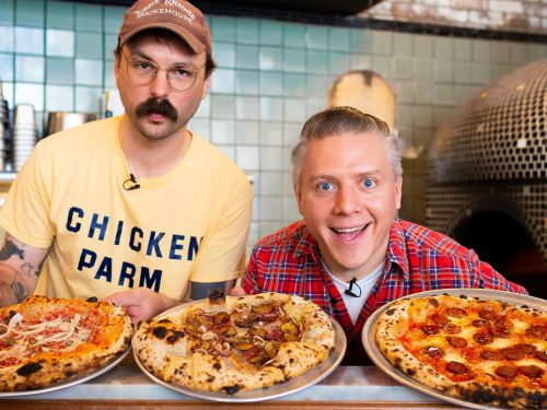 Watch: How Much Meat Can You Put on a Pizza?