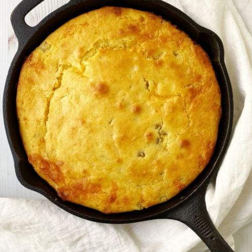 Green Chile and Cheddar Cornbread